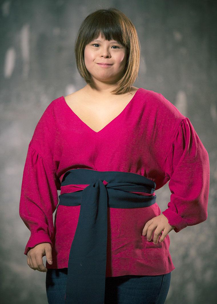 Camisa Maya fucsia, Andrea Huertas